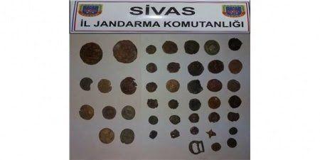 Sivas'ta Tarihi Eser Operasyonu