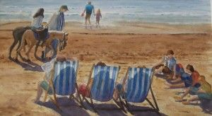 'A Day at the Beach' by Graham Ibson