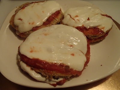 baked eggplant parm towers!: Yummy Yummy, Eggplants Parm, Baking Eggplants, Baked Eggplant, Parm Towers, Nom Nom, Favorite Recipes, Inner Italian