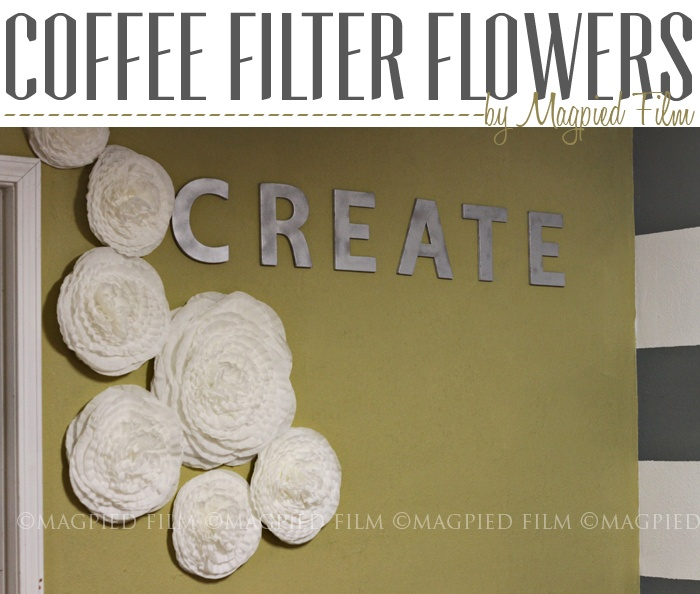 Magpied Film Coffee Filter Flowers