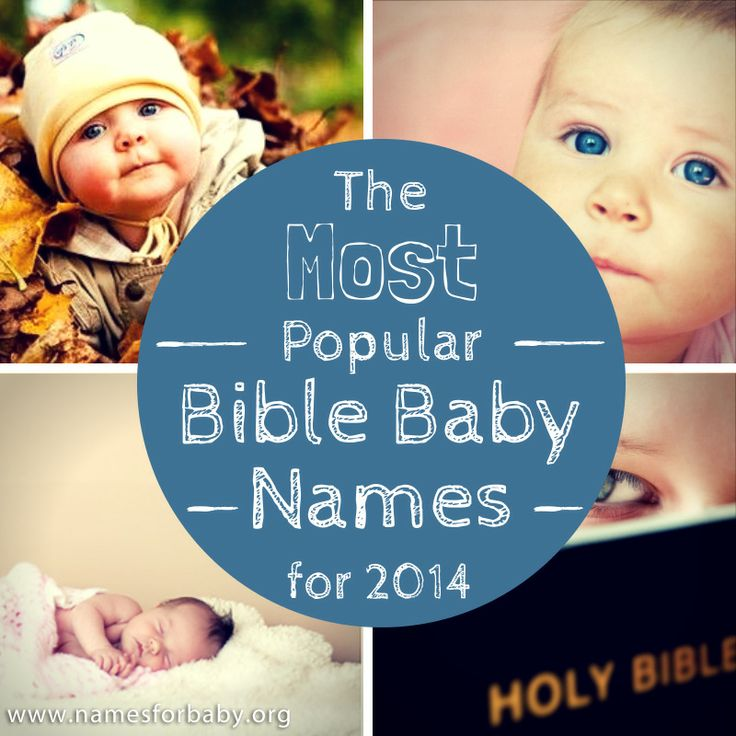 Is your #name on this list? See the #most #popular bible #names for #2014! #Religious or not, #Bible #baby #names never go out of style. #Biblical #boy names and Bibliclal #girl names and #meanings. #babynames   #babynamesandmeanings   #babynames2014   #babynaming   #christian #celebrities
