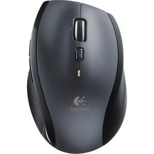 Logitech M705 Mouse - Laser - Wireless - 3 Button(s) - Silver - Radio Frequency - USB - Scroll Wheel - Right-handed Only