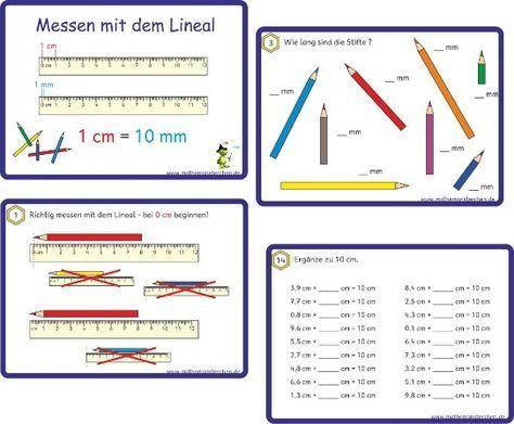 Längen Mehr zur Mathematik und Lernen allgemein unter zentral-lernen.de – Alexandra Citak