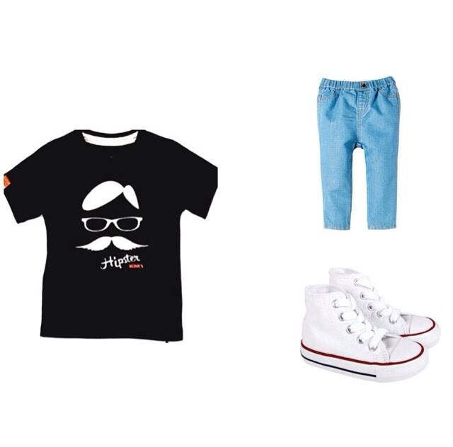 """Love this outfit put together by our newest stockist @mylittlecatwalk !! This picture is featuring #MÔMES """"Jean-Baptiste"""" tee in navy  @mylittlecatwalk has just opened up this month,so please bear with them as they are about to have some fantastic pieces available for your little ones (boys & girls) very soon!❤️ We are very excited for them and cannot wait to see what will come next in their boutique! If you want to know too,please follow them too  #cool#cute#organic#tees#tshirts"""