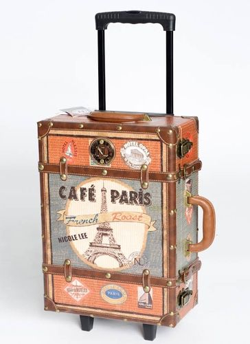 Leatherette Trim Paris Design suitcase - http://www.gojane.com/64623-stuff-leatherette-trim-paris-design-suitcase.html