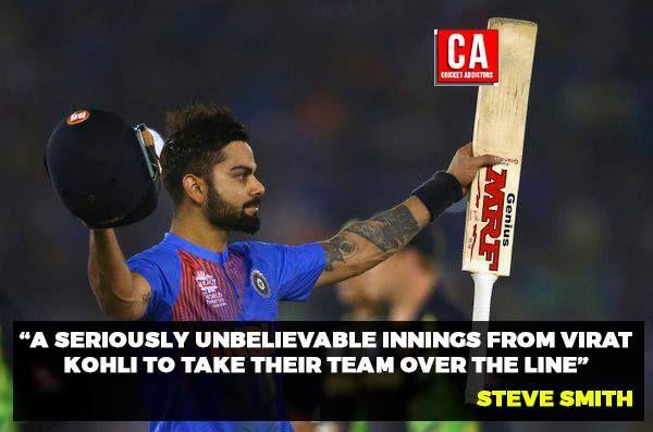 Virat Kohli's innings was special! #cricket #worldcup #world