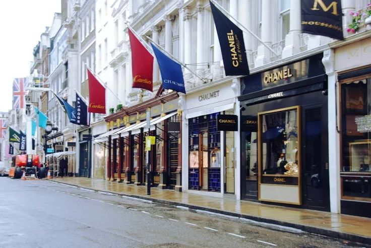 9+1 Favorite Shopping Districts: The Old Bond Street, London