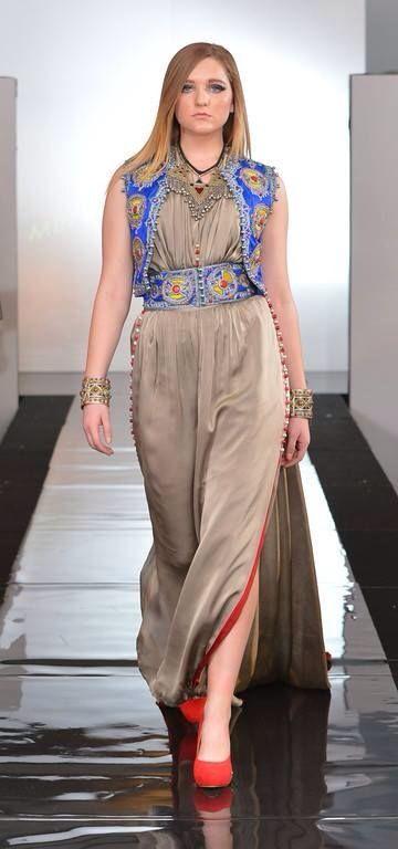 Algerian fashion: Berber style karakou