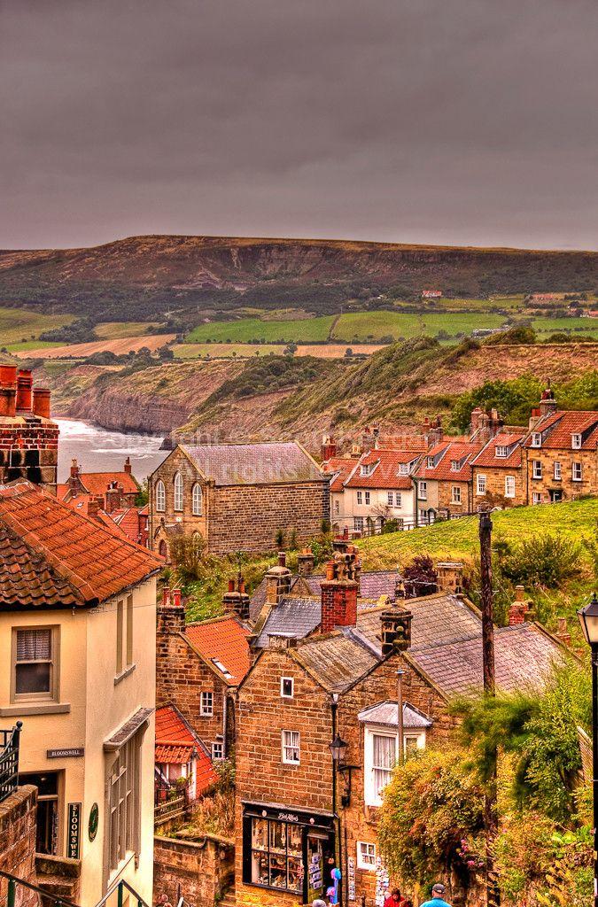 Robin Hood's Bay, Yorkshire, UK