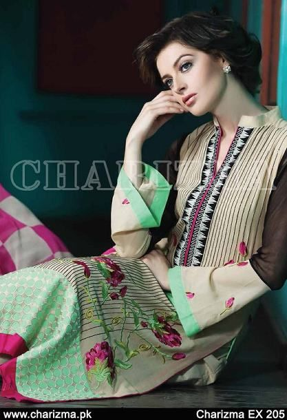 Pakistani Casual Wear Dresses For Girls By Charizma