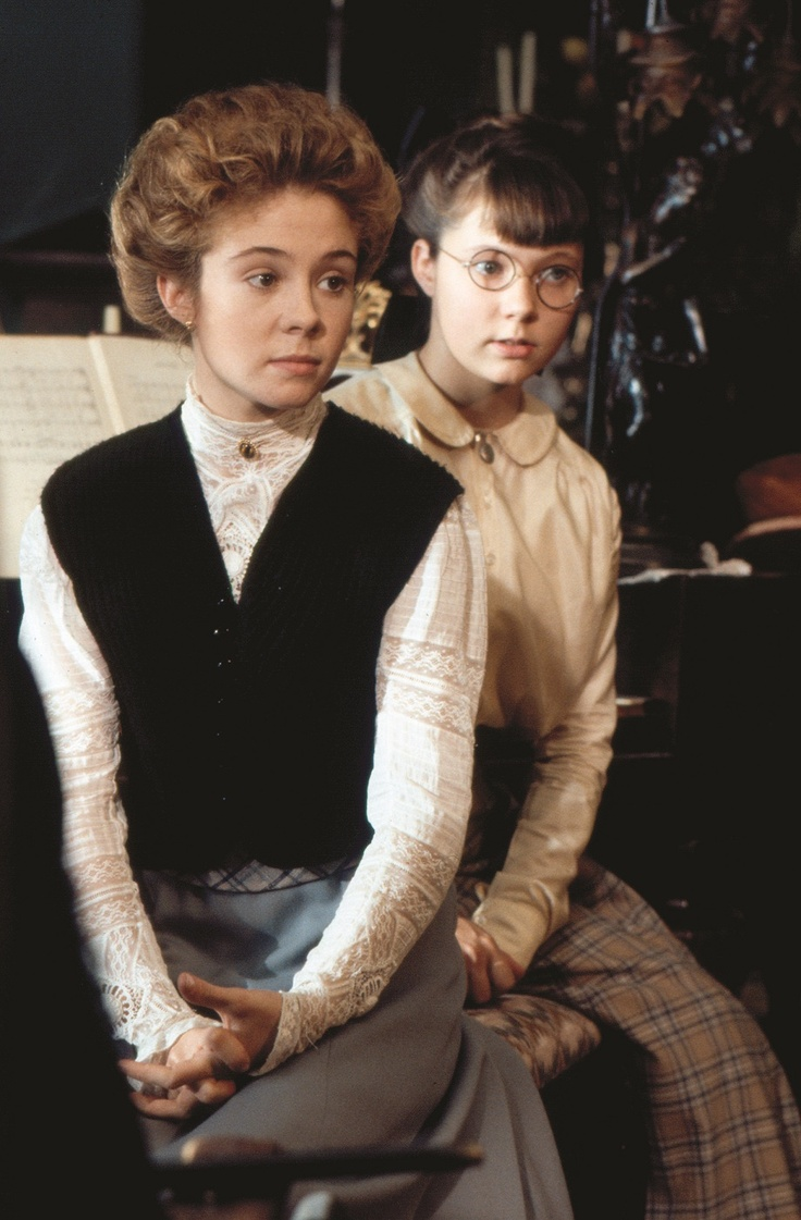 Anne Shirley and Emmeline Harris, Anne of Avonlea.