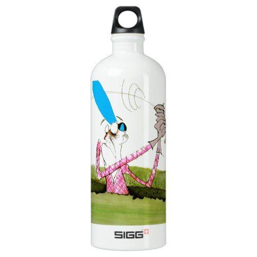 stop digging - golf, tony fernandes water bottle