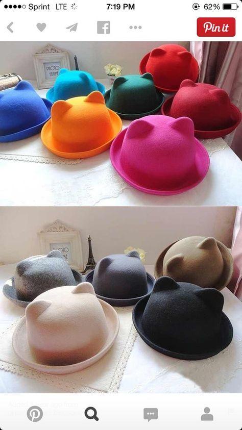 Cat ear hat...Meow!  94aa38a8ab8b