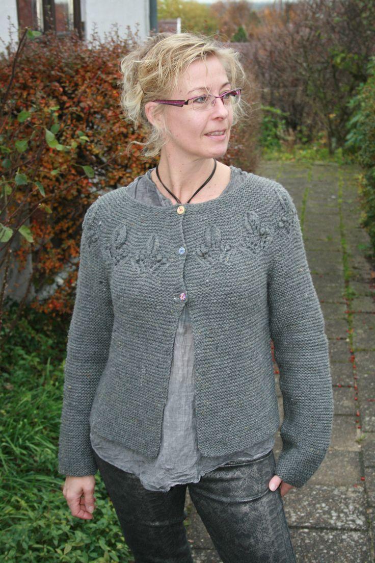 """Pattern """"Lilly"""" from Lene Holme Samsøe """"Mere Feminin Strik""""."""
