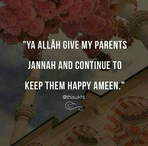 Make dua for your parents! It doesn't matter if they're Muslim or not, be good to them and ask God to guide them!