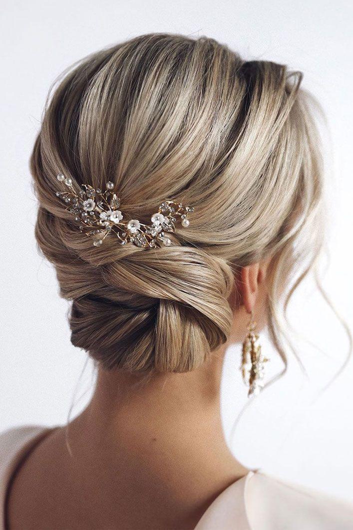 Wedding Hair Pins Wedding Hair And Makeup Cost Best Wedding Hair Styles Extensions Wedding Hochzeitsfrisuren Elegante Hochzeitsfrisur Hochzeitsfrisur Zopf