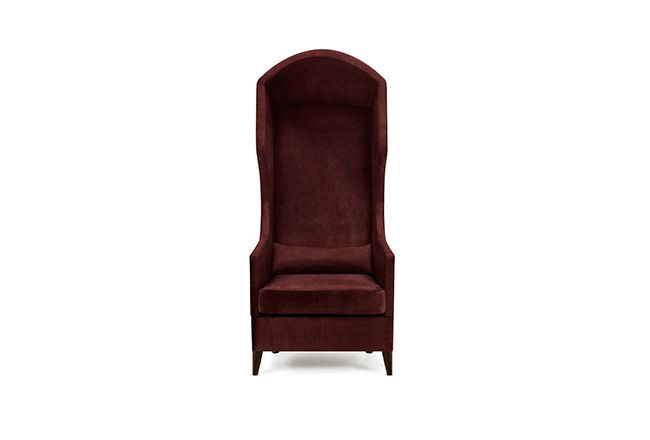 JOURNEY | Modern Upholstered Armchair by BRABBU, christmas chair decor ideas,  Made by synthetic leather or cotton velvet