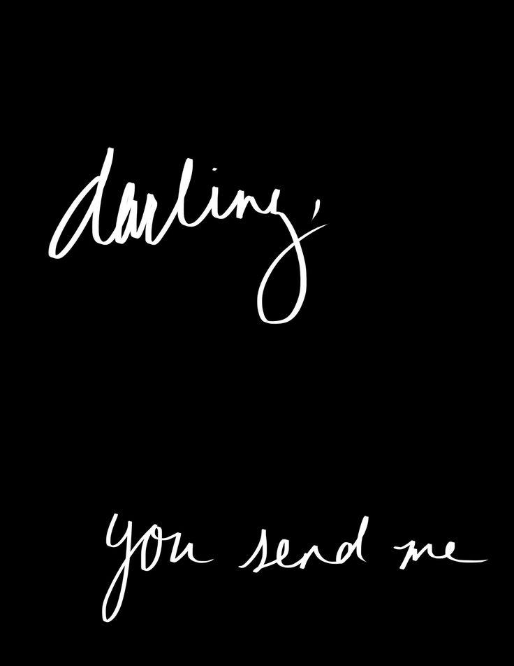 Honest you do, honest you do...You Send Me ~ Sam Cooke
