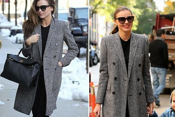 Miranda Kerr looks fab in this #saintlaurent coat!! how beautiful right! #mirandakerr #stealtheirstyle #celebrityhttp://stealtheirstyle.com/