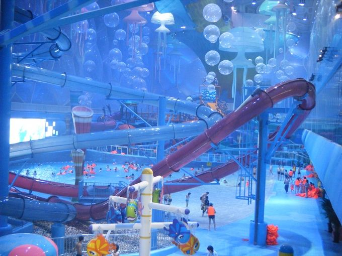 Beijing Watercube Waterpark Too Cool Not To Share