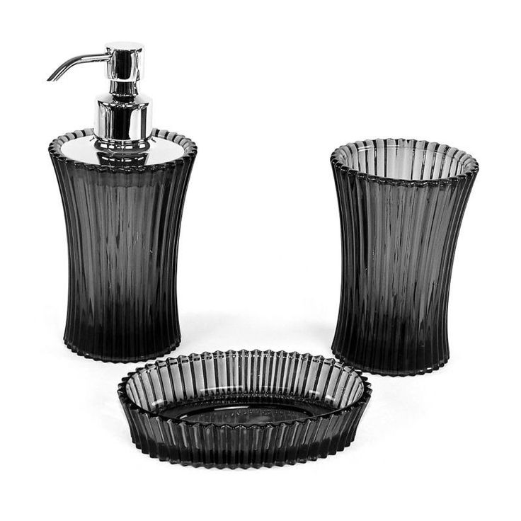 Nameeks PL200 Gedy Bathroom Accessories Set Anthracite   Chrome Accessory Bathroom Package. 1000  ideas about Bathroom Accessories Sets on Pinterest