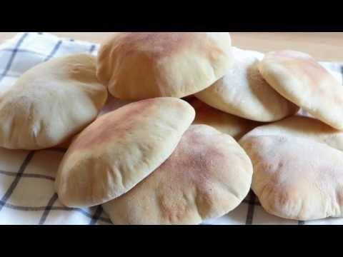 Cómo se hace PAN de PITA, Receta fácil y rápida | envidia Cocina - YouTube