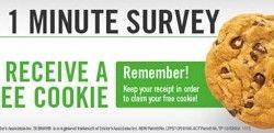 Free Subway Cookie!