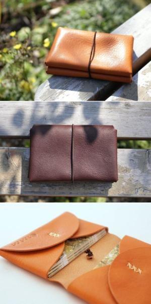 leather card case | Duram Factory by valentinapadilla
