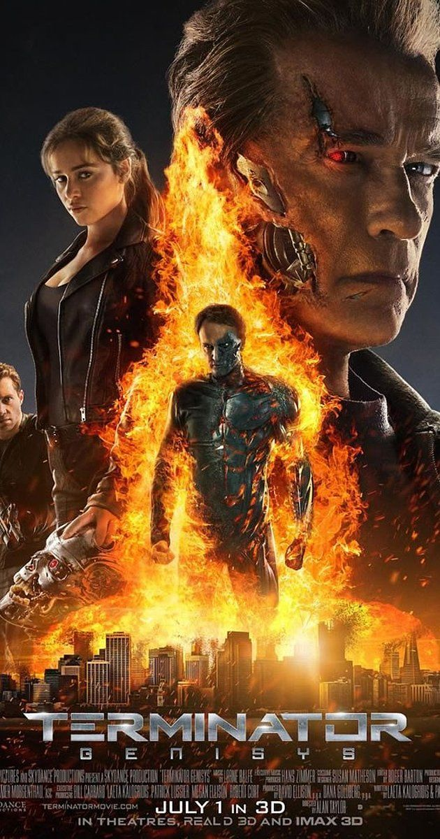 Directed by Alan Taylor.  With Arnold Schwarzenegger, Emilia Clarke, Jai Courtney, Jason Clarke. John Connor sends Kyle Reese back in time to protect Sarah Connor, but when he arrives in 1984, nothing is as he expected it to be.