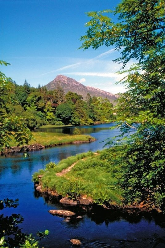 Bally Nahinch River in Connemara ~ County Galway, Ireland