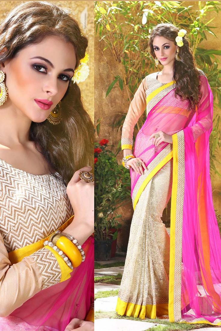 Buy Pink Net Designer Saree Online in low price at Variation. Huge collection of Designer Sarees for Wedding. #designer #designersarees #sarees #onlineshopping #latest #lowprice #variation. To see more - https://www.variation.in/collections/designer-sarees.
