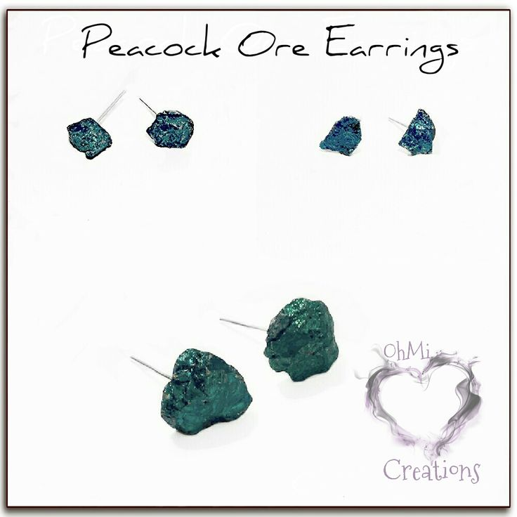 Love Peacock ore jewelry. These peacock ore earrings are the perfect summer accessory for any summer outfit. Boho or steampunk style depending on how you dress them up!