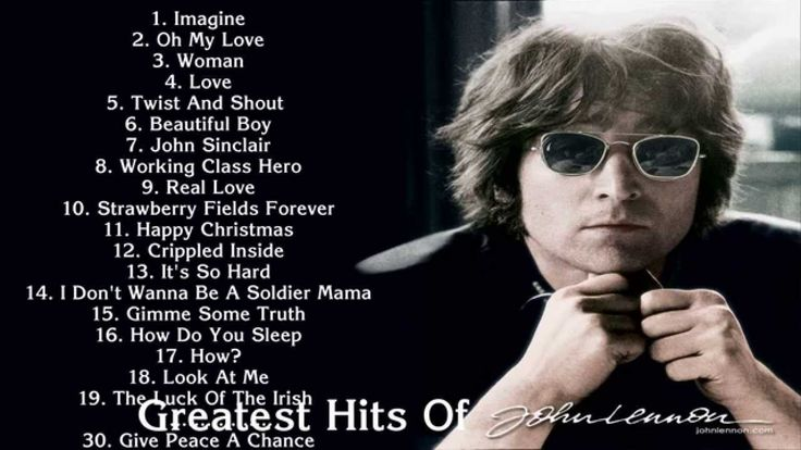 JOHN LENON: 30 Greatest hits of John Lenon | Best songs of John Lenon