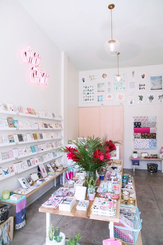 Shout & About is the newest addition to Echo Park Avenue, and a welcome one. Owner and shopkeeper Tamara Houghten first entertained the idea of the store when she failed to find an ideal shop for smal