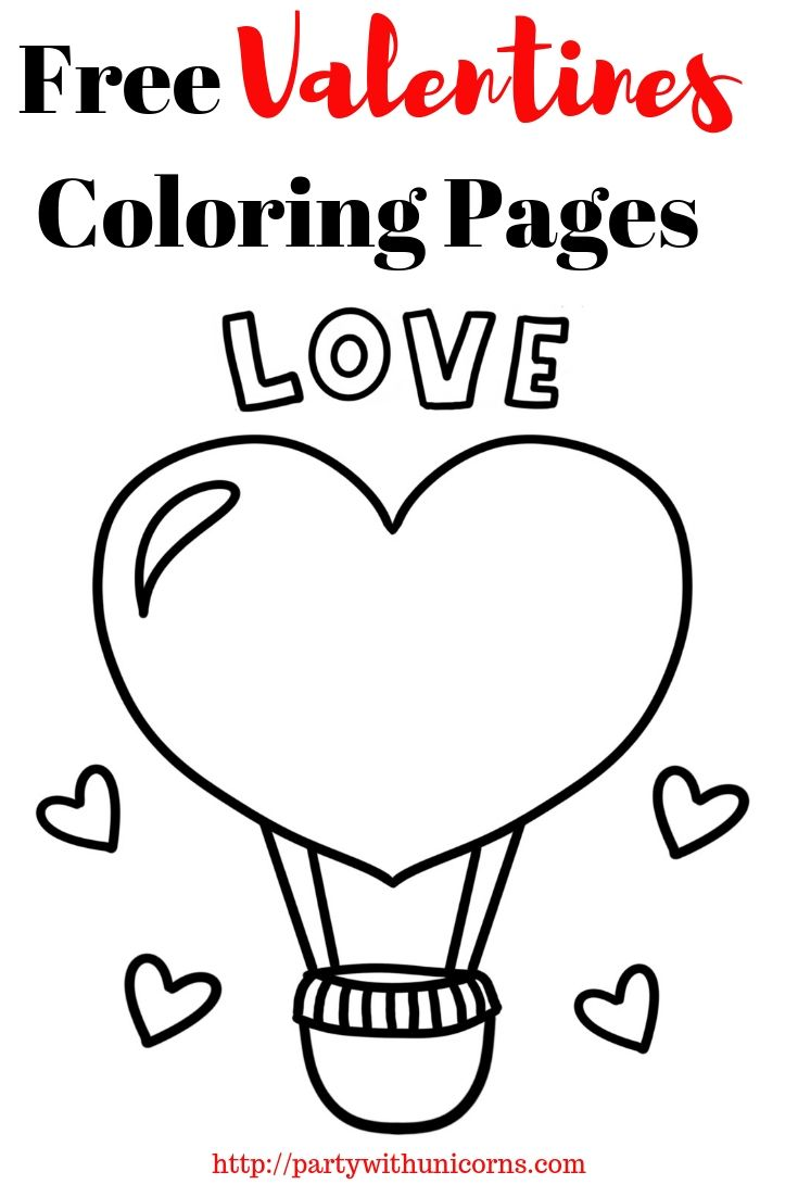 Valentines Coloring Pages - Free Coloring Pages for Kids (With images) | Valentine  coloring pages, Valentine coloring, Coloring pages for kids
