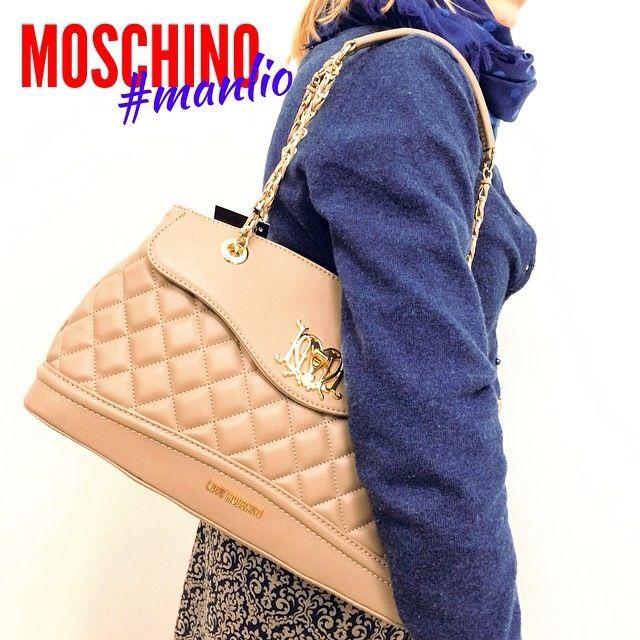 LOVE MOSCHINO Borsa trapuntata Per spedizioni WhatsApp 329.0010906 #moschino #bags #spring #2015  #love #handbags #fashion