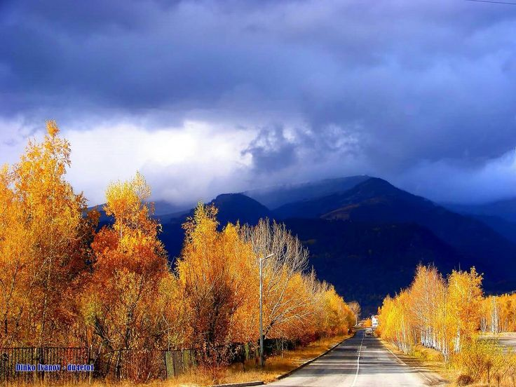 Златна есен в Златица