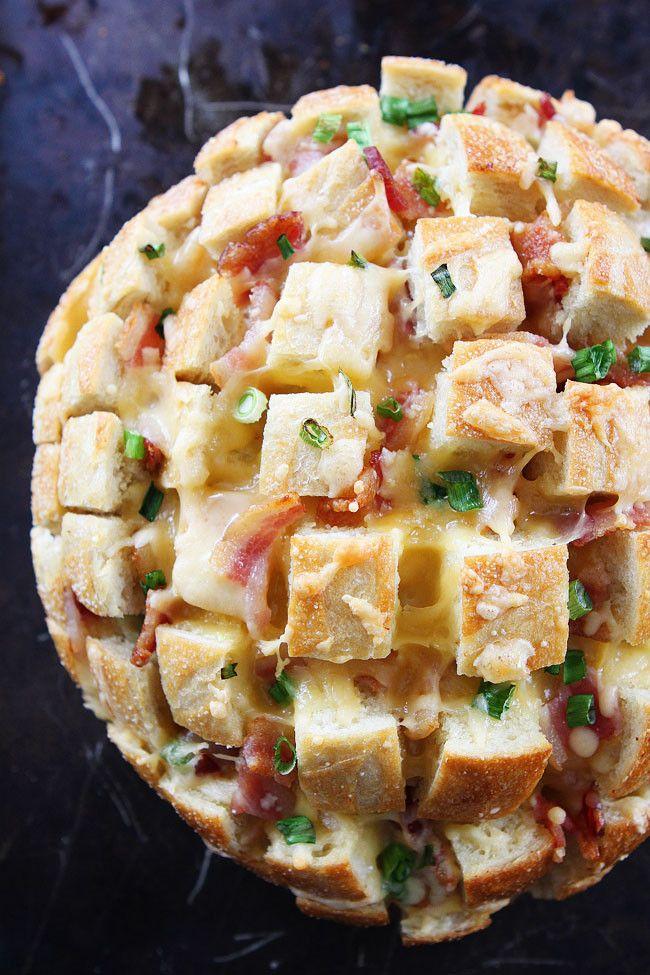 Cheesy Bacon Pull-Apart Bread