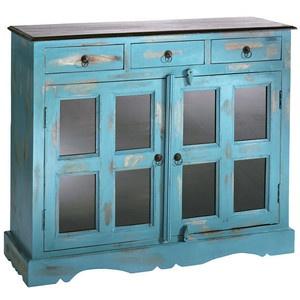 Inspirational Heine de Cupboard Sideboard Vintage Blue