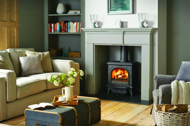 small contained cottage style fireplaces - Google Search