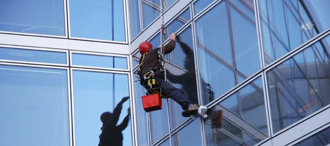 Commercial Work Is Contracted Variously From In Person Transactions For Cash Or Barter To Formal Tend Window Cleaning Services Window Cleaner Cleaning Gutters
