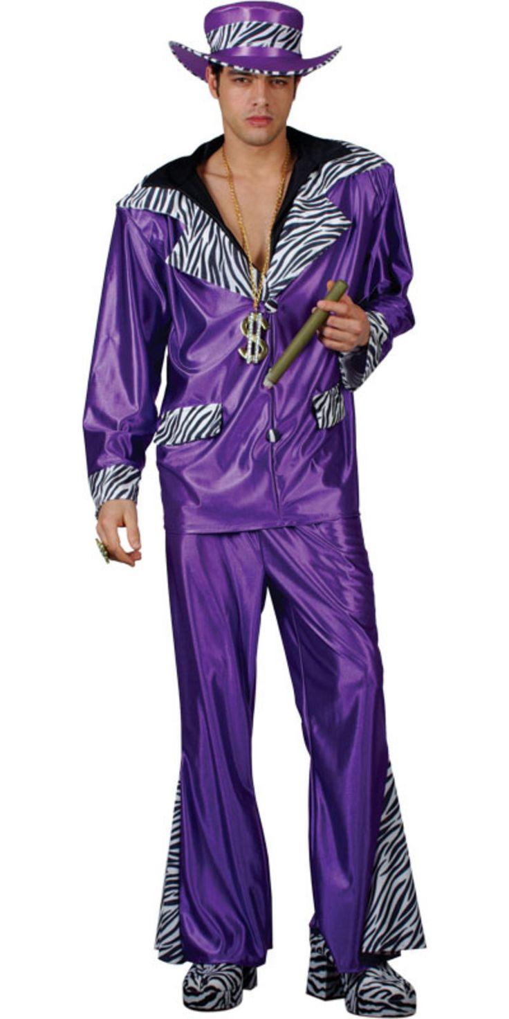 1970s fashion looks   1970s Style New York Pimp Guy Purple ...