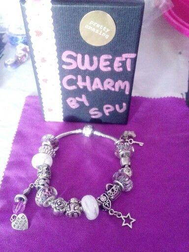 Pulsera  secretos 20€#facebook/sweetcharmspu