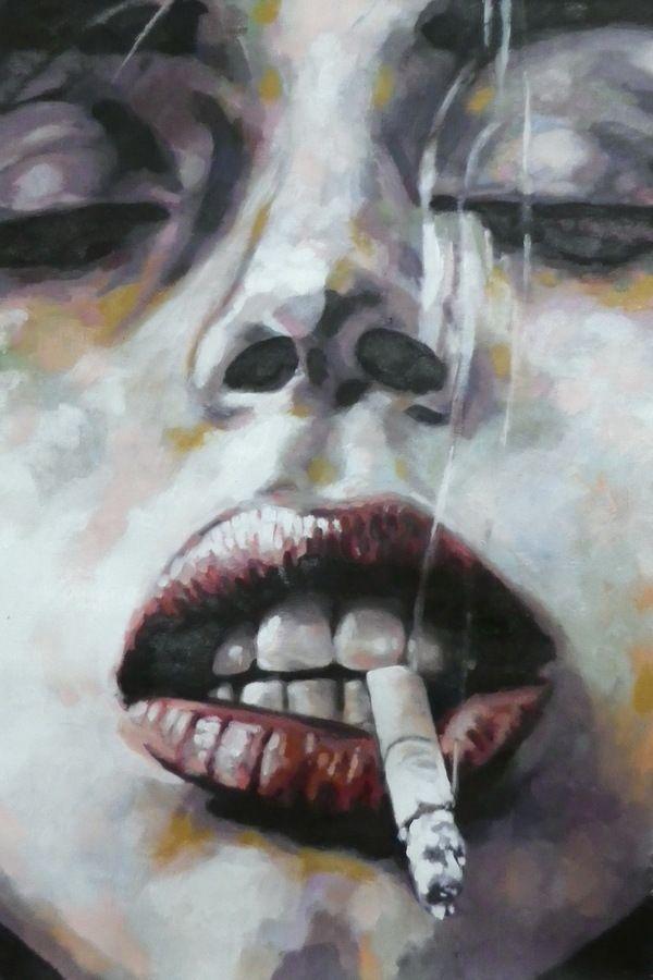 Smoke BW by thomas saliot, via Behance