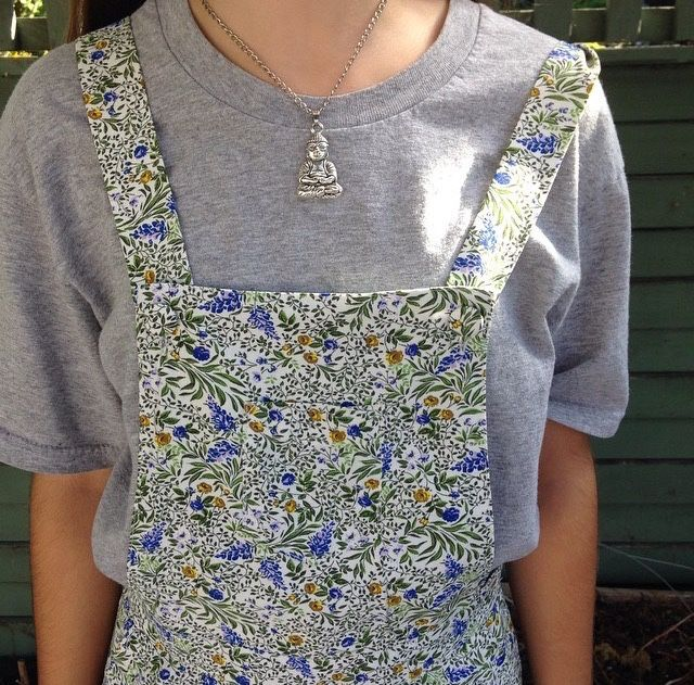 Please exude the buda necklace but...these overalls are adorable.