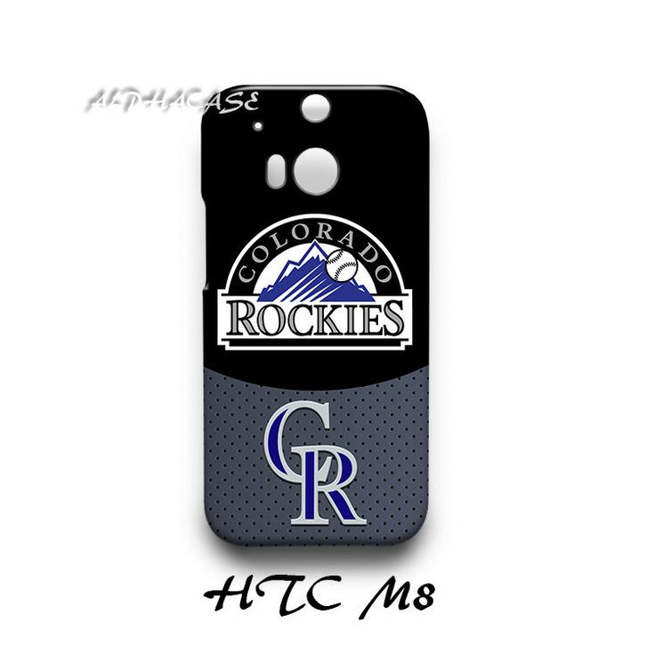 Colorado Rockies HTC M8 Hardshell Case Cover
