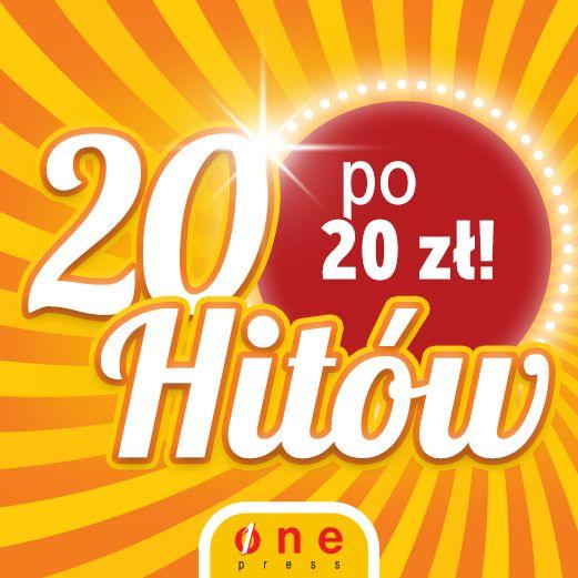 Promocja na Onepress. 20 hitów po 20 zł.