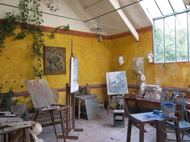 Monet's studio, Giverny