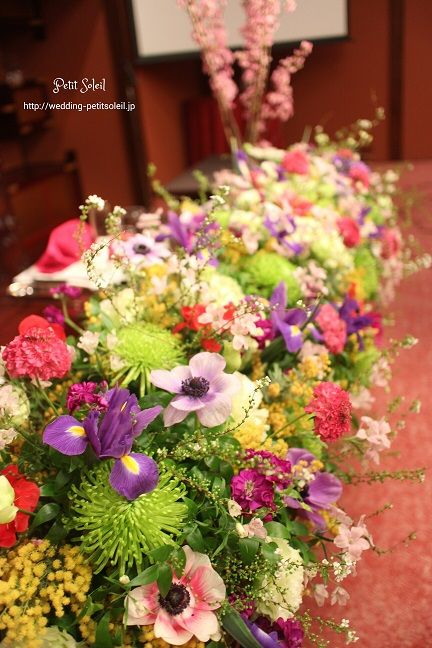 目黒雅叙園 装花