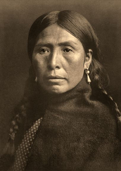 Lumni Type - Vintage Photography of Native Americans by Edward Curtis - Giclée Prints by JLI Imaging, Arroyo Seco, New Mexico